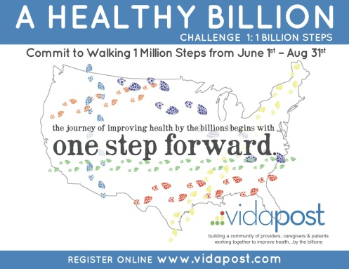 A Healthy Billion Challenge 1:  1 Billion Steps